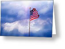 God Bless America Greeting Card by Kume Bryant