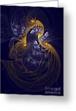 Goddess Of Healing Energy Greeting Card by Deborah Benoit
