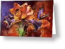 Goddess Of Miracles Greeting Card by Carol Cavalaris