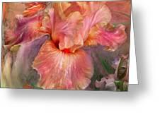 Goddess Of Spring Greeting Card by Carol Cavalaris