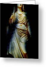 Goddess Of The Night Greeting Card by Diana Angstadt