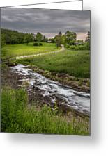 Goin With The Flow Greeting Card by Bill  Wakeley