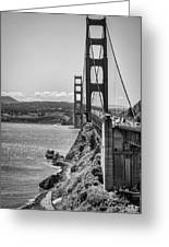 Going To San Francisco Greeting Card by Heather Applegate