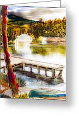 Golden Afternoon Greeting Card by Kip DeVore