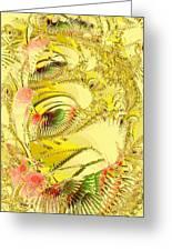 Golden Greeting Card by Anastasiya Malakhova