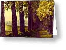 Golden Days Greeting Card by Michael Swanson