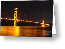 Golden Gate Bridge 2 Greeting Card by Theresa Ramos-DuVon