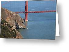 Golden Gate Bridge II Greeting Card by Jenna Szerlag