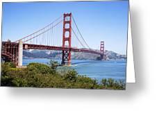 Golden Gate Bridge Greeting Card by Kelley King