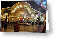 Golden Nugget Greeting Card by Kay Novy