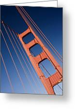 Golden Tower II Lh Greeting Card by Darren Patterson