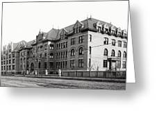 Gonzaga College Spokane 1900 Greeting Card by Daniel Hagerman