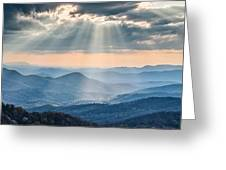 Good Afternoon From Max Patch Greeting Card by Rob Travis