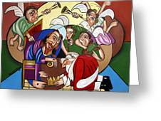 Good And Faithful Servant Greeting Card by Anthony Falbo