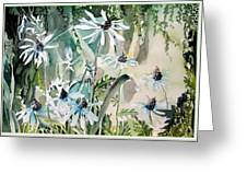 Good Morning Greeting Card by Mindy Newman