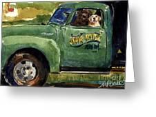 Good Ole Boys Greeting Card by Molly Poole