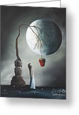 Gothic Fantasy Art By Shawna Erback So Tempting Greeting Card by Shawna Erback
