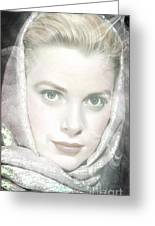 Grace Kelly Greeting Card by M and L Creations