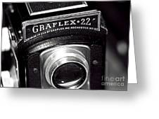 Graflex 22 Greeting Card by John Rizzuto