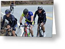 Gran Fondo Greeting Card by Susan Leggett