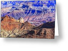 Grand Canyon And The Colorado River Greeting Card by James Steele