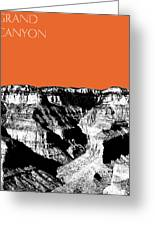 Grand Canyon - Coral Greeting Card by DB Artist