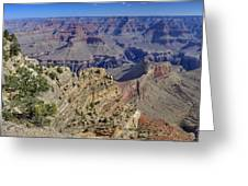 Grand Canyon South Rim Greeting Card by Patrick Jacquet