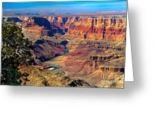Grand Canyon Sunset Greeting Card by Robert Bales