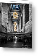 Grand Central Station IIi Ck Greeting Card by Hannes Cmarits