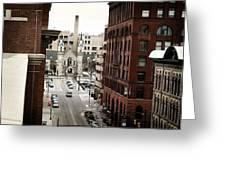 Grand Rapids 10 Greeting Card by Scott Hovind