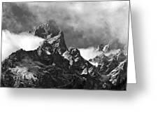 Grand Tetons Greeting Card by Charles Kosina