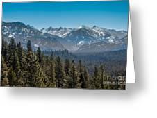 Grandjean Valley Greeting Card by Robert Bales