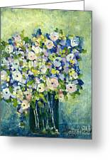 Grandma's Flowers Greeting Card by Sherry Harradence