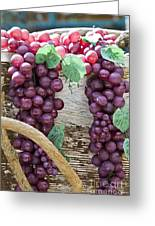 Grapes Greeting Card by Tim Hightower