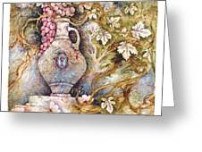 Grapevine Greeting Card by Michoel Muchnik
