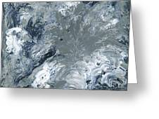 Gray Color Of Energy Greeting Card by Ania Milo