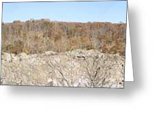 Great Falls Va - 121257 Greeting Card by DC Photographer
