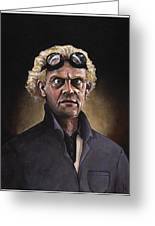 Great Scott Greeting Card by Richardson Comly
