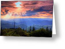 Great Smoky Mountains  Greeting Card by Doug McPherson