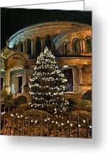 Greek Christmas Greeting Card by Toni Martsoukos