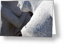 Greek statues Greeting Card by Antony McAulay