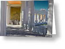Greek Theatre 2 Greeting Card by Angelina Vick