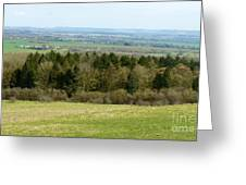 Green And Pleasant Land Greeting Card by Julie Koretz