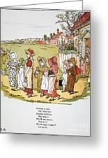 Greenaway: Illustration Greeting Card by Granger