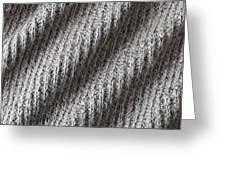 Grey Wool Greeting Card by Tom Gowanlock