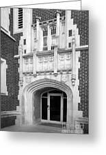 Grinnel College Collegiate Entryway Greeting Card by University Icons