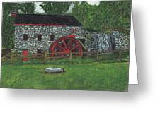 Grist Mill At Wayside Inn Greeting Card by Cliff Wilson