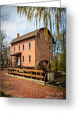 Grist Mill In Deep River County Park Greeting Card by Paul Velgos