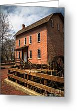 Grist Mill In Hobart Indiana Greeting Card by Paul Velgos