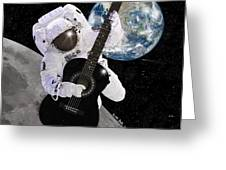 Ground Control to Major Tom Greeting Card by Nikki Marie Smith
